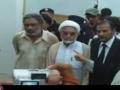 Shaheed Askari Raza - Voluntarily Surrendering himself to Police - Karachi Pakistan - Urdu