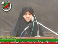 [Yume Hussain AS - KU] Speech sister Saeqa Hussain - 25Jan2012 - Urdu
