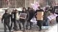 Turkish activists protest US-Israel missile test 19th Feb 2012 - English