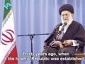 03 Ayatullah Khamenei - The battle is a battle of wills (Farsi sub English)