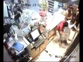 Thugs backed up by Bahrain police attacking Jawad 24 Hours supermarket - 10APR12 - All Languages