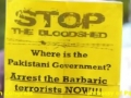 Washington DC Protest outside Pakistan Embassy against Shia Killings in Pakistan - 14APR12 - English