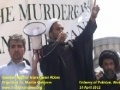 [8] Speech by H.I. Qaiser Abbas - Protest @ Pakistan Embassy, Washington DC - 14Apr12 - Urdu