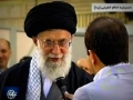 Imam Khamenei casting his vote for Parliamentary Secondary Election - Farsi