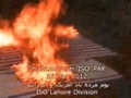 [16 May 2012 Protest - Lahore] Burning Flag of America and Israel - Urdu