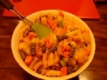 Sweet and Sour Shrimp with Noodles -  English