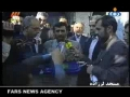 Ahmadinejad voting in election - 2008