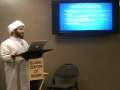 Part 2 - Sh. Hamza - Workshop Food and Drinks in the West - Ramadan 1433 - English