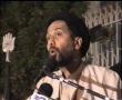 Islah E Azadari- Imam Hussain (a.s) crying on our Azadari - Jan Ali Kazmi - Part 2 - Urdu
