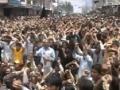 راجہ ناصر قدم بڑھاؤ Brave people of Skardu chant in support of Allama Raja Nasir - Urdu