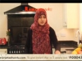 How to make a Quick Halloumi Wrap video Nutrition Kitchen Ramadan special - English