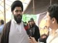 AL-MANAR Interview with Allama Syed Shafqat Sherazi - Arabic