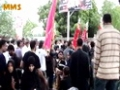 Firing around Juloos YAUM E ALI (a.s) 2012 - Karachi - Urdu