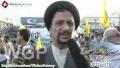 [AL-QUDS 2012] Karachi, Pakistan : Interview H.I. Syed Munawwar Naqvi - Urdu