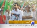 Geo Tv: Really And Protest Camp - Urdu