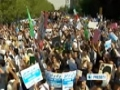 [14 Sept 2012] Iranian Muslims protest against the US And Israel - English