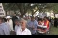 Anti-Blasphemy protest held in Houston Texas - English