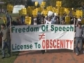 Protest in Washington DC against Islamophobia and Obscene Film - 22 Septermber 2012 - English