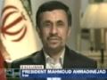President Ahmadinejad on CNN With Piers Morgan on 9/11, Israel, Holocaust and Homosexuality - 24 SEP 12 - English