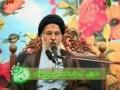 Speech H.I. Seyyed Mirbaqeri - عمل صالح و اخلاص - Farsi
