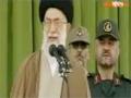 تصاویری منتشر نشده از سخنرانی رهبر انقلاب - Farsi