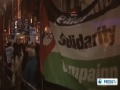 Hundreds protest in UK against israeli attack on Gaza - 15 Nov 2012 - English