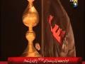 Roza e Hazrat Imam Hussain (a.s) per Alam ki Tabdeeli - Moharram 1434 - Urdu