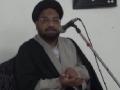 [03] Muharram 1434 - Asr-e-Hazir Mein Muhabbat-e-Rasool (saws) Ke Taqaze - Moulana Taqi Agha -  Urdu