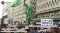 [18 November 2012] Protest against attack of Israeli forces on Gaza - Karachi Press Club - Urdu