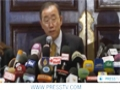 [20 Nov 2012] Ban Ki moon calls for an immediate end of all violence in Gaza - English
