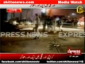 [Media Watch] Blast at Orangi Town 5 Number in Karachi During Majlis-e Aza - 21 Nov 2012 - Express News - Urdu