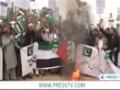 [22 Nov 2012] Anti - Israeli protests continue in Pakistan - English