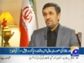 Capital Talk 22 November 2012 (Ahmadinejad Exclusive Interview Full ) On Geonews - Urdu