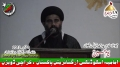 [یوم حسین ع] Speech H.I. Ahmed Iqbal Rizvi - Dawood Eng College - 18 Muharram - Urdu