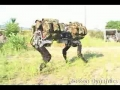 Big Dog Walking - Robot Mule