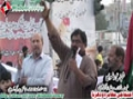 [12 Jan 2013] Karachi Dharna - Noha by Brother Shuja Rizvi - Urdu