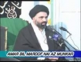 [08] Amr Bil Maroof Wa Nahi Anil Munkar - Mohurrum 2007 - Ustad Syed Jawad Naqavi - Urdu