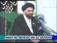 [09] Amr Bil Maroof Wa Nahi Anil Munkar - Mohurrum 2007 - Ustad Syed Jawad Naqavi - Urdu