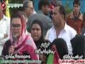 [13 Jan 2013] Karachi Dharna - Speech Ghanwa Bhutto - PPP Shaheed Murtaza Bhutto - Urdu