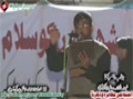 [13 Jan 2013] Karachi Dharna - Noha by Brother Nasir Agha - Urdu