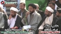 [14 Jan 2013] Karachi Dharna at Numaesh Chorangi - Ending Press Conference MWM - Urdu