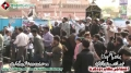 [14 Jan 2013] Karachi Dharna - Alwidai Noha Khwani by Brother Hashim Raza - Urdu