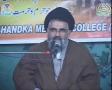 [07] حضور امت در میدان عمل Historical victory of the Nation of Pakistan - Ustad Syed Jawad Naqavi- Urdu