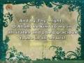 [2] Excerprt from Doa Komail - Arabic sub English