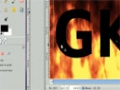 Gimp Tutorial:  Animated Fire Text  - English