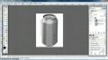 GIMP -  wrap or warp an image - English
