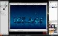 GIMP - 3D Ice Text - English