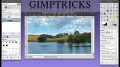 GIMP - How to make a watermark - English