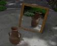 GIMP - Shimmering mirror reflection - English