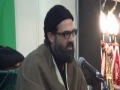 [Majlis for Br. Sakhawat's Father] Part 2 Speech by Molana Hasan Mujteba Rizvi  Urdu